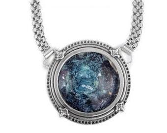 Beautiful 925 Sterling Silver Necklace, Ancient Roman Glass Necklace, Roman Glass Pendant, Unique Jewelry