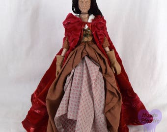 Do Not Purchase see announcementTonner DOLL Dress  Red Riding Hood Steampunk Ruby Once Upon A Time Outfit
