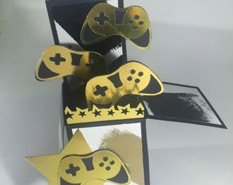 Gaming Pop Up Card