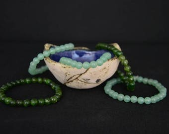 Authentic Mexican Jade Bracelets