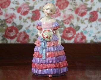1930s The Little Bridesmaid Royal Doulton Figurine.  Rg No 760007. In very good condition.