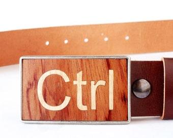 Wooden belt buckle, Cool belt buckle, Wide brown leather belt, Belt buckles for men, Belt buckles for women, Snap belt strap, Wood buckle