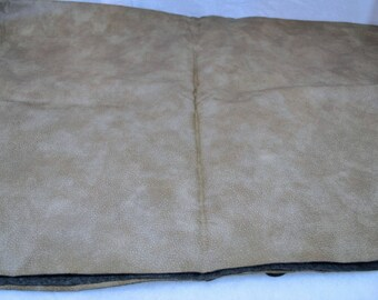"27"" x 18'' Vintage Western Pu Faux Leather Fabric For Upholstery Bags Purses Etc."