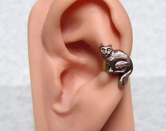 Kitty Cat Ear Cuff ( left side )