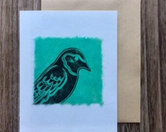 Sparrow Notecards