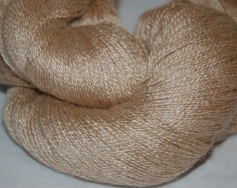 Undyed:  Studio June Yarn Oasis Lace - Natural
