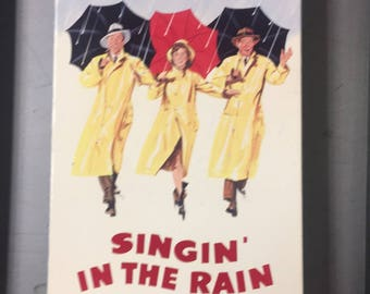 Signing in the rain vhs free ship