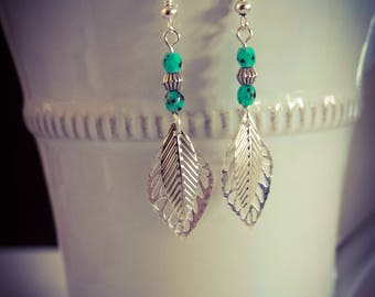 Bohemian dangle earrings