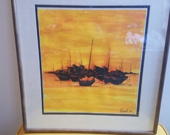Vintage Sail Boat painting by Pascale