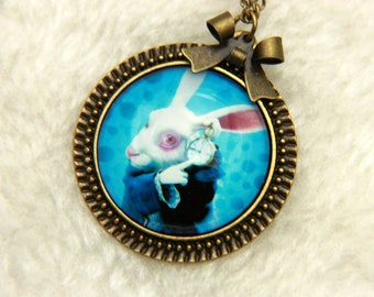 Rabbit Necklace, alice2525C
