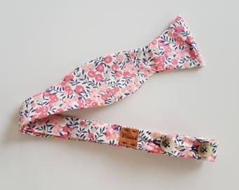 Winter Berry -- Liberty of London Self Tie Bow Tie