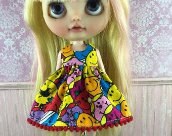 SALE - Blythe Dress - Mr Men & Little Miss