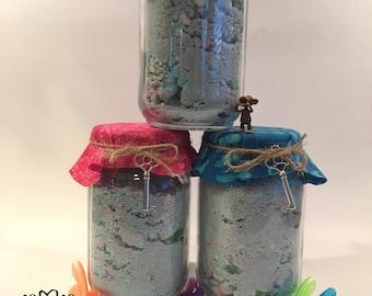 Tri-Color 18 1/2 oz bath fizzies for kids