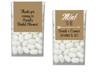 Mint To Be Tic Tac Label, Mint To Be Tic Tac Favors, Wedding, Bridal Shower Favors, Personalized Favor, Tic Tac Wedding Mint Favors