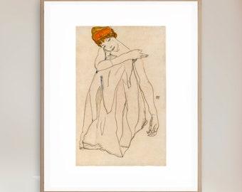 Egon Schiele - Dancer - Giclee Print