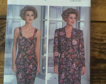 Uncut Butterick 6240 Pattern-Dress and Jacket