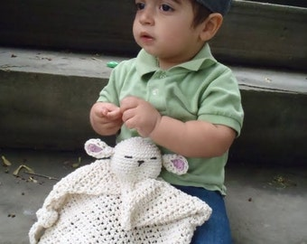 Baby Lovey security blanket Pattern