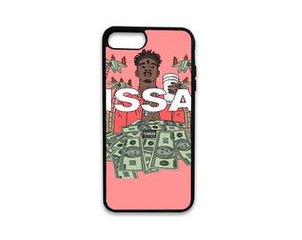 21 Savage iPhone Case