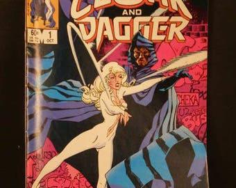 Vintage Marvel Comic Group Book Cloak & Dagger 1983 #1 Limited Series Oct 1st