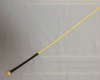 """Nursery School Canes - Rattan School Punishment Cane Paracord Handle - 27-30"""" Length & 6.5-7.5mm Thickness"""