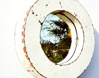 Small Oil Drum Mirror