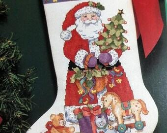 APRILSALE Dimensions, Spirit of Christmas, Susan Winget, #214, Vintage 1992, Counted Cross Stitch, Pattern Book
