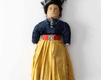 vintage Native American doll
