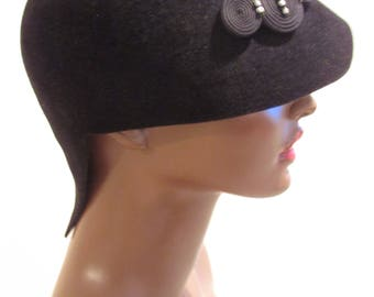 French Cloche   Haute Couture      Couture Cloche    Designs by HOPE