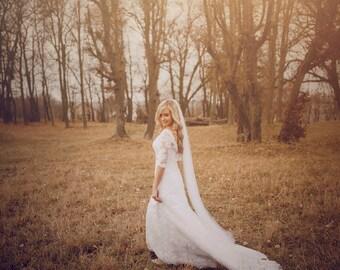 Soft Wedding Veil | Medium Volume