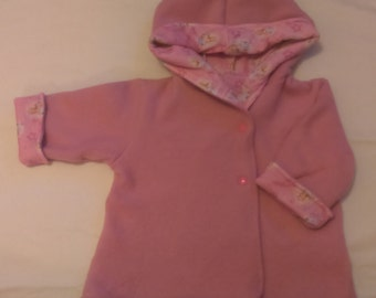 3-6 month reversible Spring , Autumn, Fall baby jacket. Special introductory price.