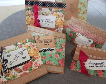Pack of 4 cards for all occaisions