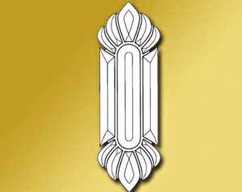 Classic Beveled Glass Cluster