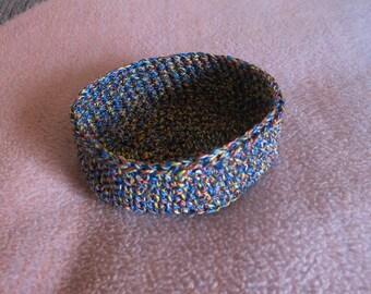 Utensilo Basket Crochet CA 16 x 5.5 cm/round