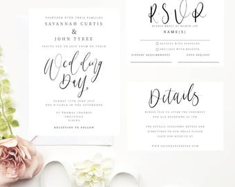 Savannah Wedding Suite Collection