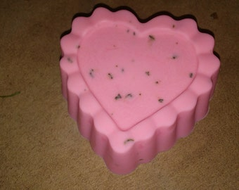 Rose Soap, shea butter soap, bar soap, natural soap, vegan soap, rose scented soap, spring soap
