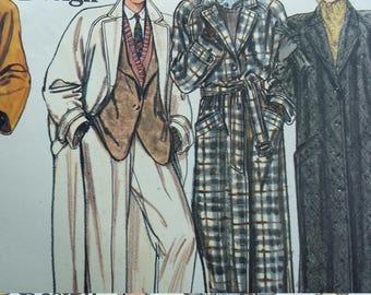 Vintage Vogue 1614 Sewing Pattern Coats Sizes 12-14-16