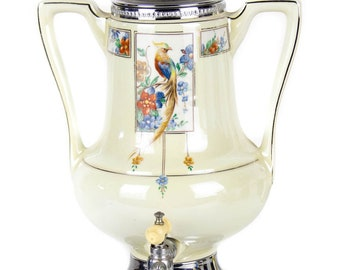 Vintage Royal Rochester Golden Pheasant Electric Coffee Pot Maker Percolator Excellent Cosmetic Condition