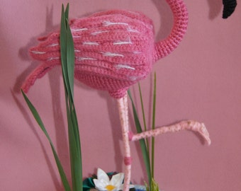 Flamingo,crochet
