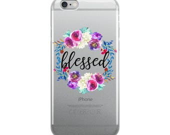Blessed iPhone Case, Christian, inspirational