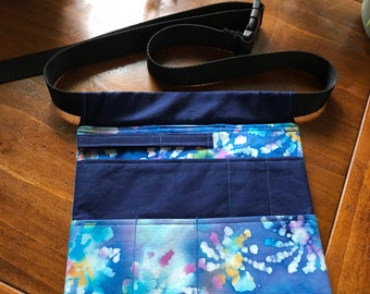 Nurses tool belt (blue tie-dye)