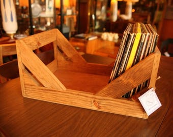 "12"" Vinyl Record Storage - A stylish Alternative to milk Crates!"