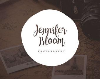 Blog Header Logo Design, Blog Logo Design, Blog Header Design, Logo for Bloggers, Pre-Made Logo for Bloggers, Round Blog