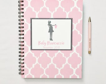 Personalized pregnancy planner, gift for new mom, pregnancy tracker, expecting parents, pregnancy journal, pregnancy gift ideas, sister gift
