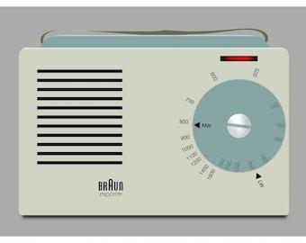 Braun Exporter 2 Radio fine art giclée print