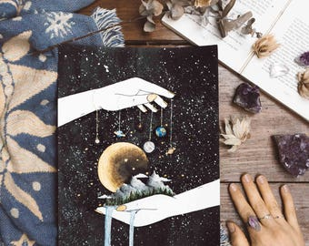 Your Own Universe, Space Art, Bedroom Decor