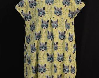 """Dress """"racoon"""" T10ans streetwear"""