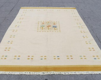 kilim rug, turkish kilim rug , Indian rug, kilim rug, kilim, runner rug, area rug, 503