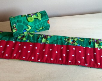 Ninja Turtle Crayon Roll