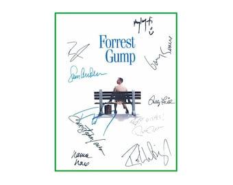 Forrest Gump Script Signed Rpt - Tom Hanks, Gary Sinise, Mykelti Williamson, Sally Field, Robin Wright