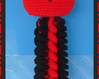 Adorable Handmade Crocheted Jellyfish! Perfect Gift or Perfect Addition to any Collection!!  Stuffed JellyFish, Mickey Mouse